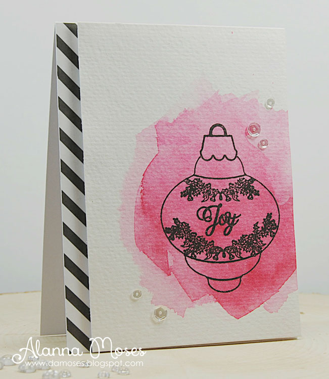 Frantic Stamper Clear Stamp Set - Ivy Bubble Ornament