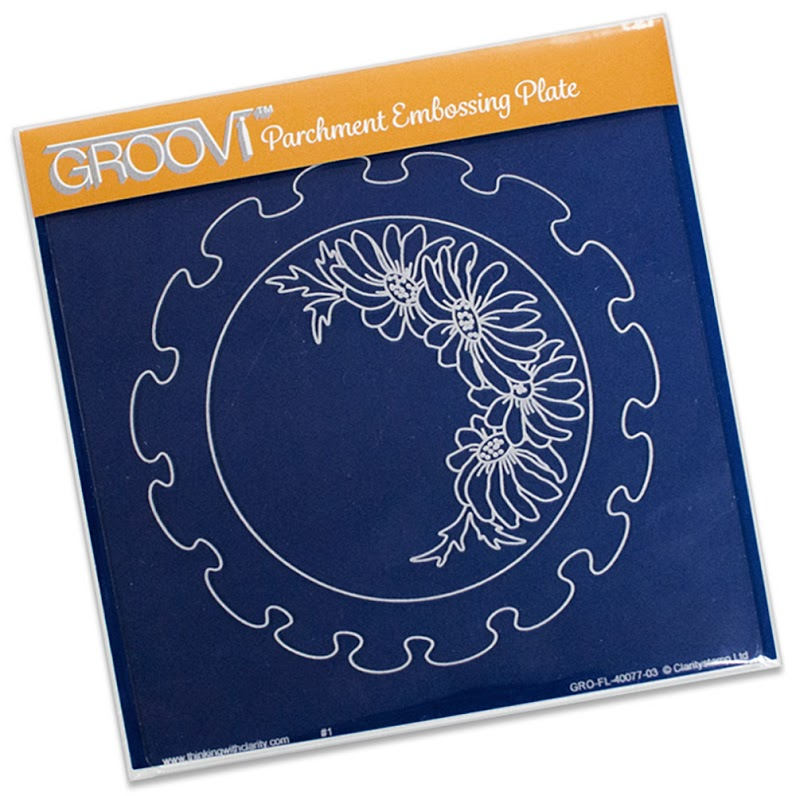 Groovi Frilly Circle A5 Sq