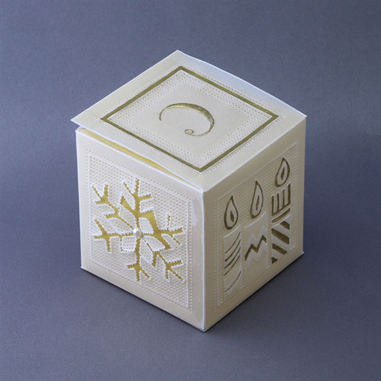 Groovi Plate - Box Template - Christmas
