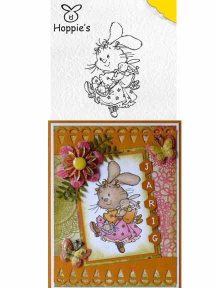 Clear Stamps - Hoppie's Favorite Doll