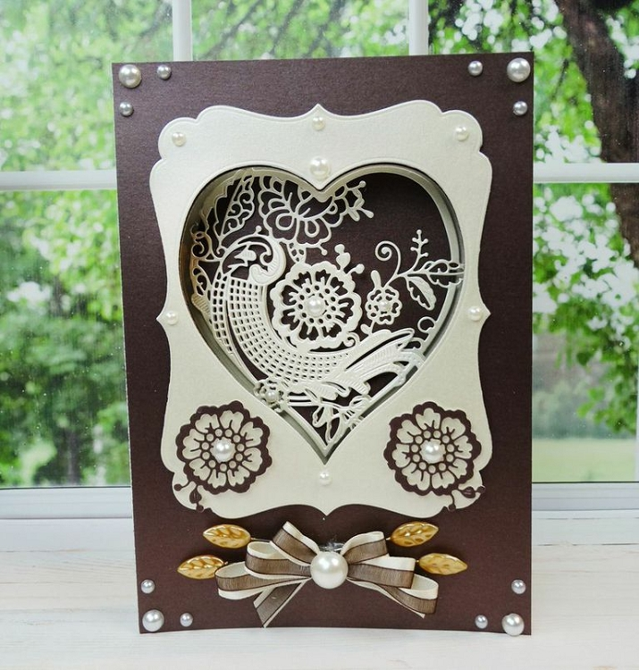 Tattered Lace Die - Essentials Nesting Hearts