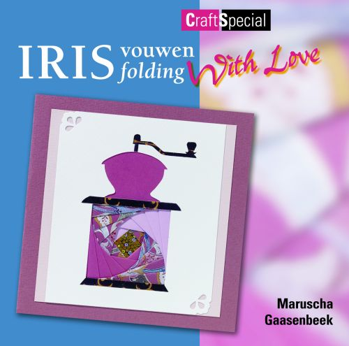 Ecstasy Crafts Iris Folding With Love Book