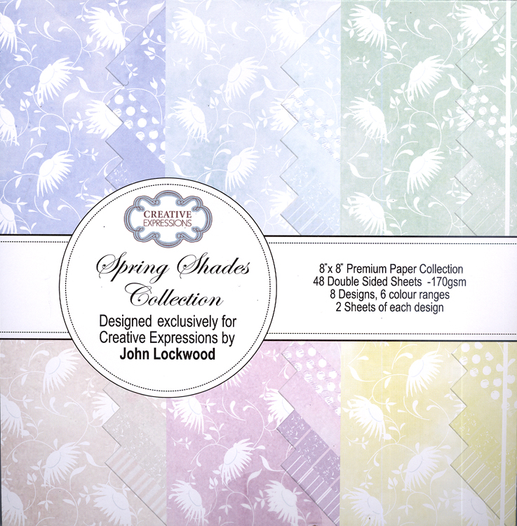 Creative Expressions Spring Shades Collection-Paper Pad