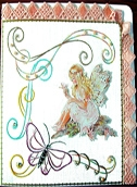 KC Embroidery Pattern - Fairy
