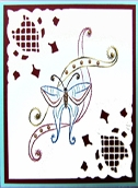 KC Embroidery Pattern - Butterfly Ribbon