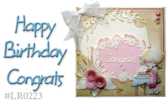 Marianne Design: Creatables Dies - Happy Birthday/Congrats
