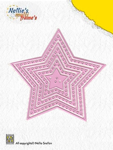 Multi Frame Dies Decorate Star (set of 7)