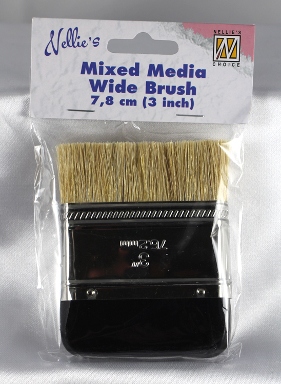 Ecstasy Crafts Mixed Media Wide Brush 7.8Cm (3 Inch)