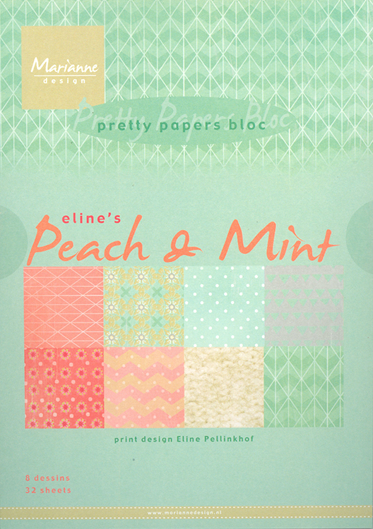 Pretty Paper Bloc - Eline's Peach & Mint