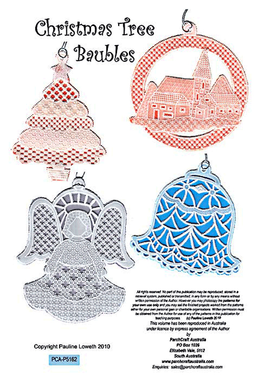 ParchCraft Australia Christmas Tree Baubles