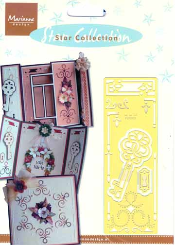 Stencils Star Collection Lock & Key