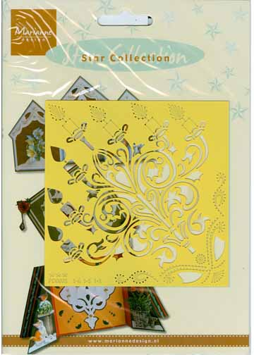 Marianne Design Star Collection Christmas Candle