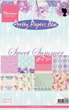 Marianne's Paper Bloc - Sweet Summer