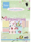 Marianne's Pretty Paper Bloc-Spring Time