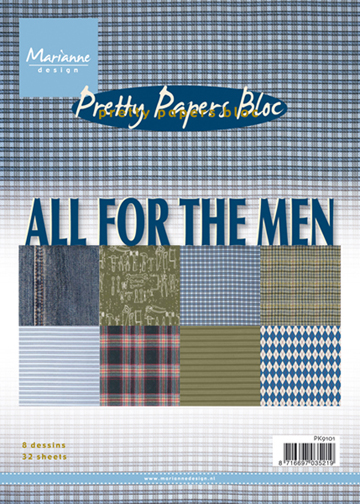 Marianne's Pretty Paper Bloc-All for Men