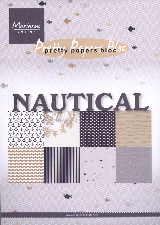 Marianne Design Paper Pack: Nautical