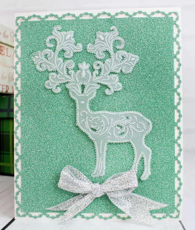 Tattered Lace Parchment Grid - Christmas Characters