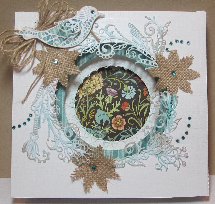 Tattered Lace Die - Concertina Sides & Inner Plates