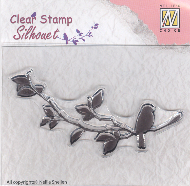 Silhouette Clear Stamp - Birdsong 1