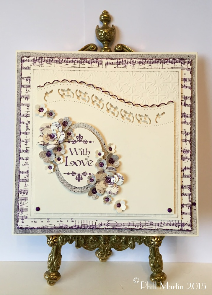 Baroque Sentiments -A5 Clear Stamp