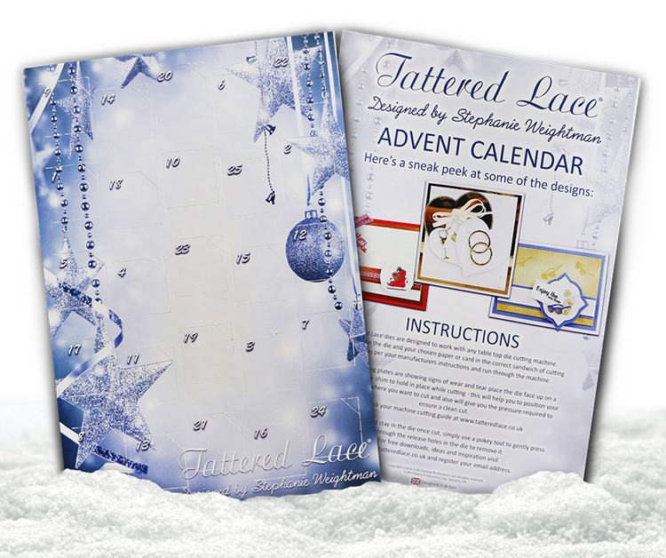 Tattered Lace Advent Calendar 2016