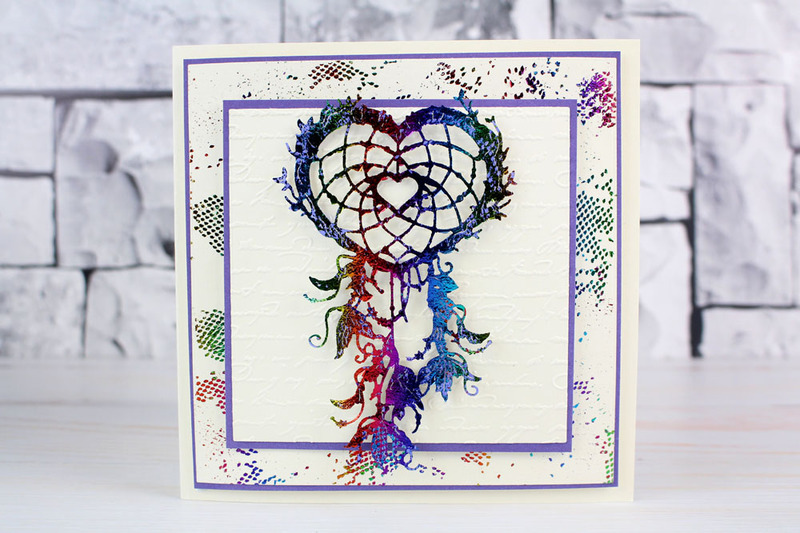 Tattered Lace - Heart Dream Catcher