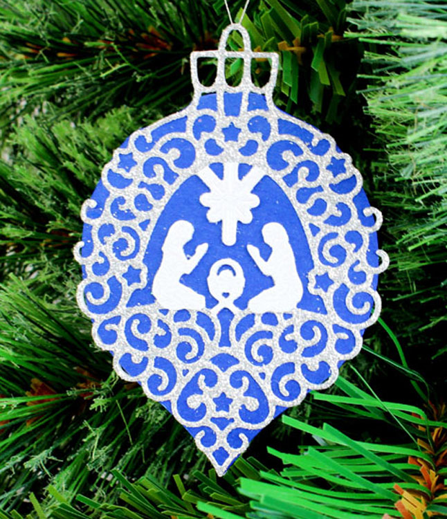 Tattered Lace Dies ­ Nativity Bauble