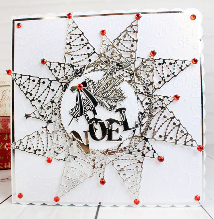 Tattered Lace Dies ­ Pearl Christmas Trees