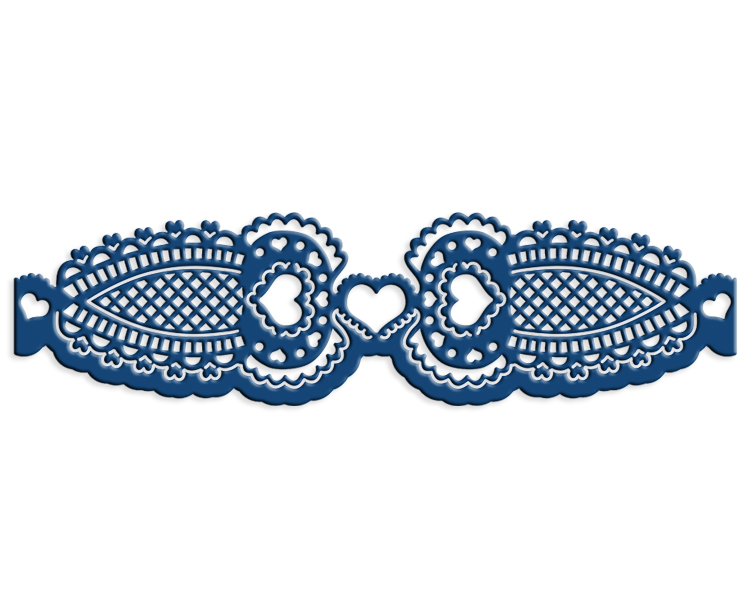 Tattered Lace Die - Adoringly Ornate Edge