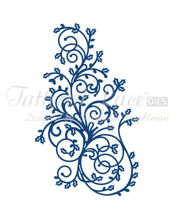 Tattered Lace Dies - Holly Flourish
