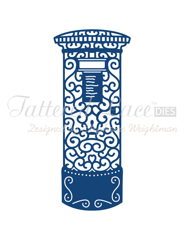 Tattered Lace Dies - Post Box