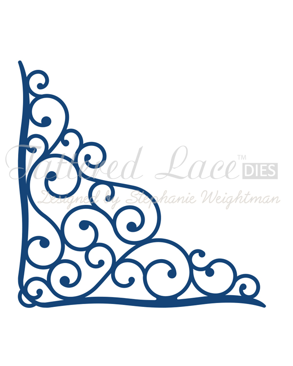 Tattered Lace Die - Sparkle Corner
