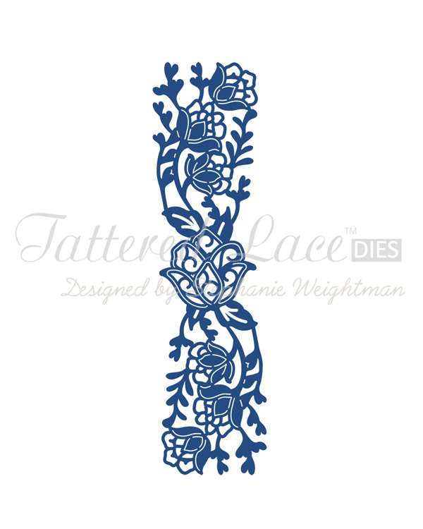 Tattered Lace Die - Angelique Border