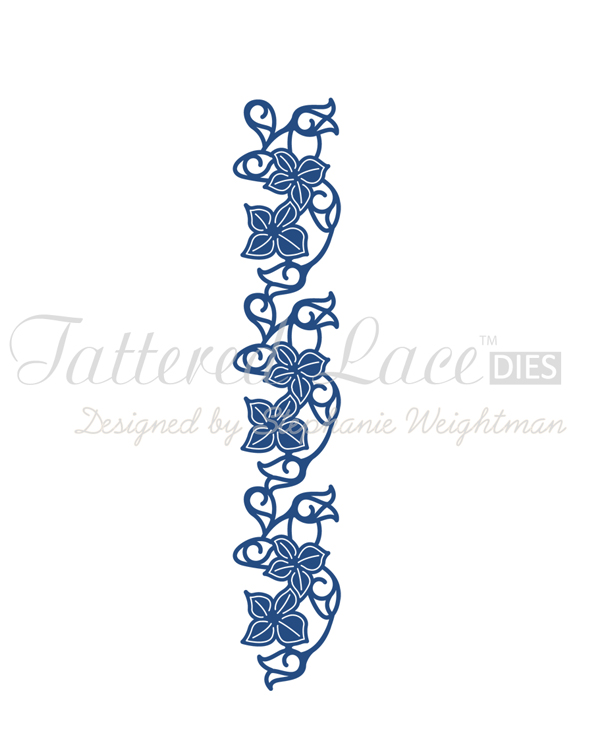 Tattered Lace Die - Bell Flower Border
