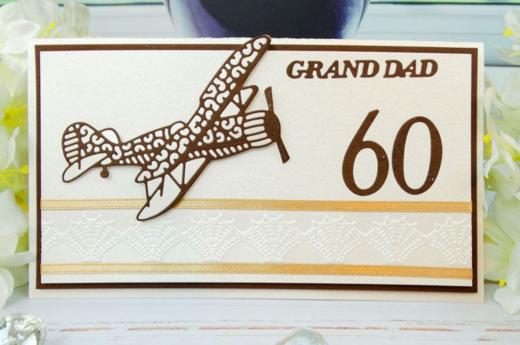 Tattered Lace Die - Vintage Plane
