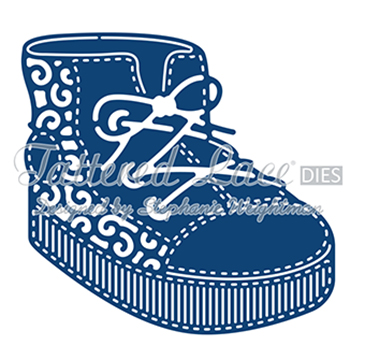 Tattered Lace Die - Baby Boy Boot