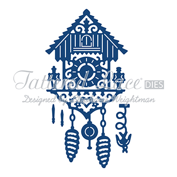 Tattered Lace Die - Spinning Charm Cuckoo Clock