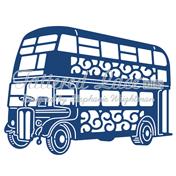 Tattered Lace Die - Bus