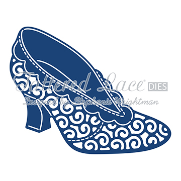 Tattered Lace Die - Lu Lu Shoe