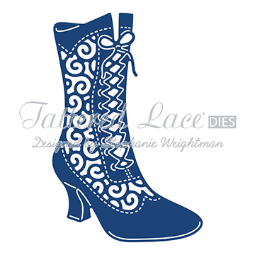 Tattered Lace Die - Milly Boot