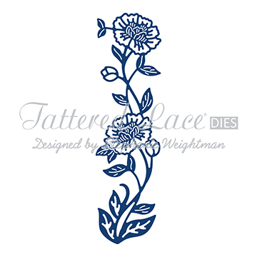 Tattered Lace Die - Floral Border
