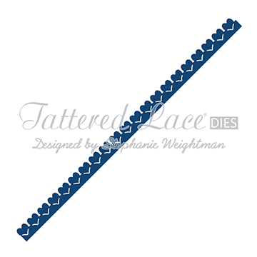 Tattered Lace Die - Heart Border