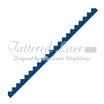 Tattered Lace Die - Zig Zag Border