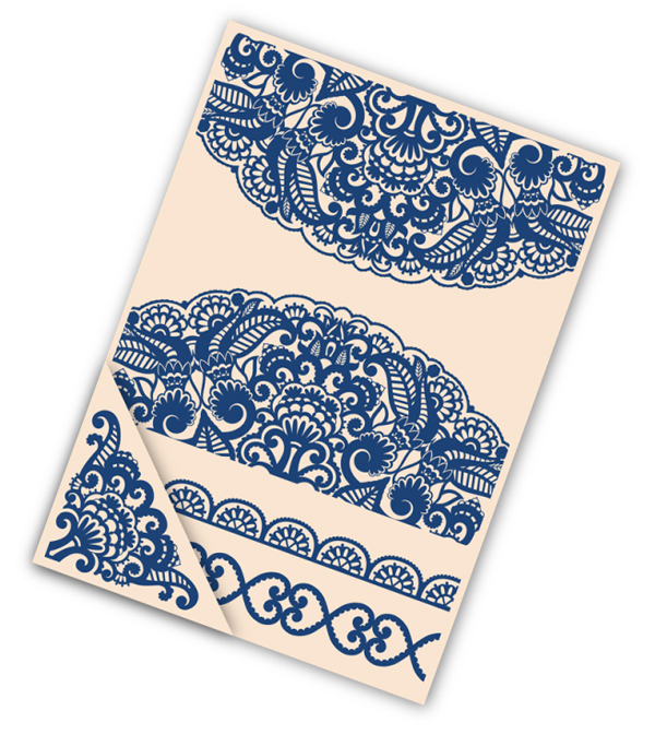 Tattered Lace Embossing Folder Sets- Doily