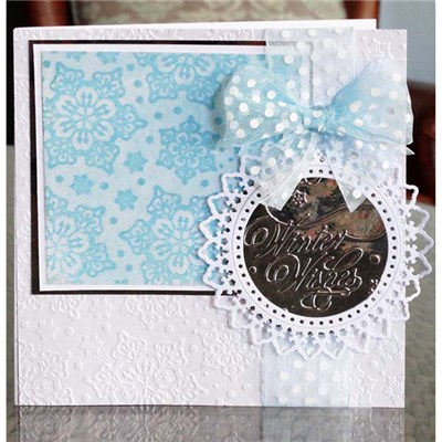 Tattered Lace Embossing Folder Set - Snowflake
