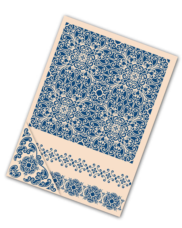 Tattered Lace Embossing Folder Set - Ornamental