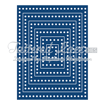 Tattered Lace Die - Essentials Decorative Edge Rectangles