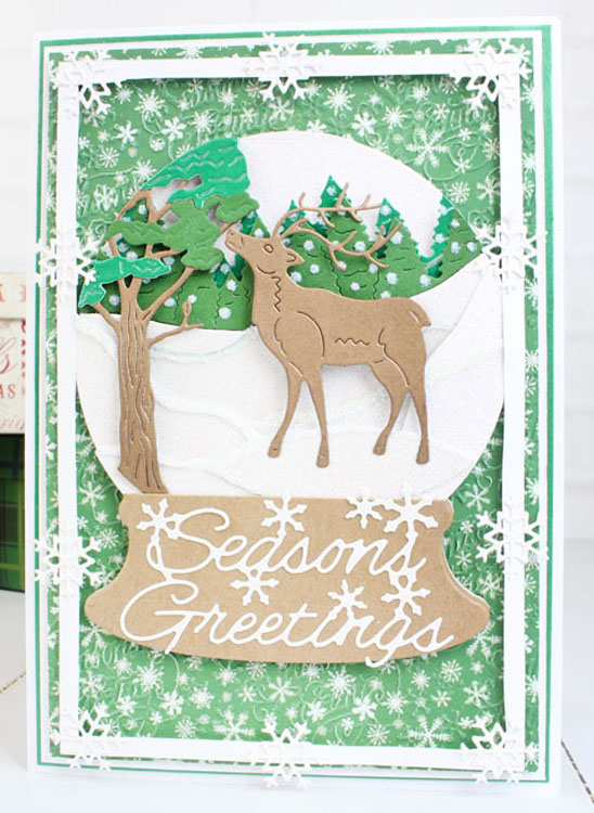 Essentials by Tattered Lace - Reindeer Scene