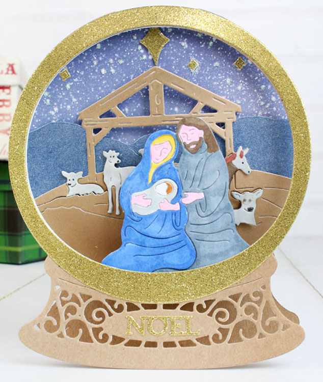 Essentials by Tattered Lace - Nativity Scene