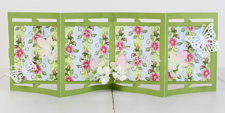 Tattered Lace Die - Rectangle Accordion